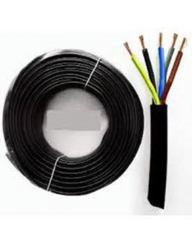 Cavo elettrico in gomma 5 fili x 2,5