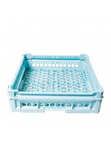 Cesto lavaggio bicchieri cm.50x50x12h