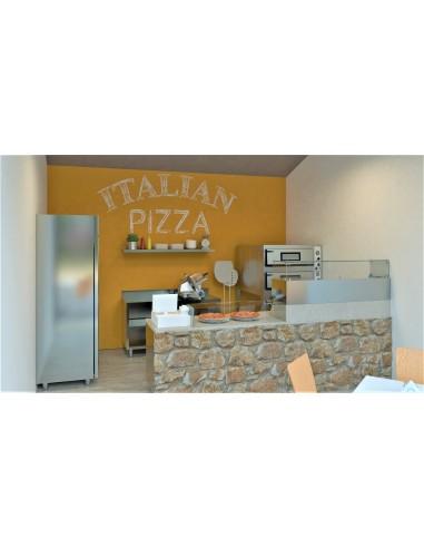 """Composizione Pizzeria d'asporto """"A"""""""